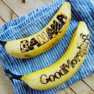 お洒落なバナナ